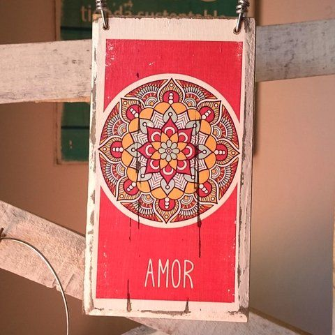 Cartel Navidad   Mandala Amor - comprar online