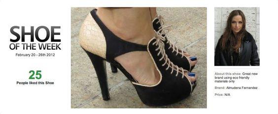 Shoemocracy - Shoe of the week, Feb 20 - 26