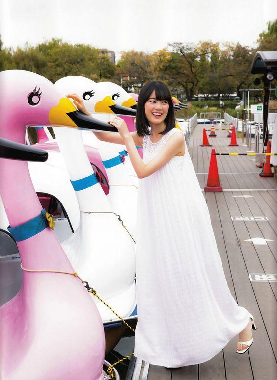 スワンボートとかわいい生田絵梨花