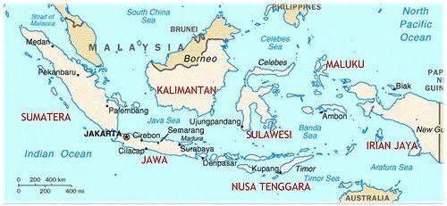 Peta Indonesia Dan Berbagai Keragaman Di Dalamnya Dengan Gambar