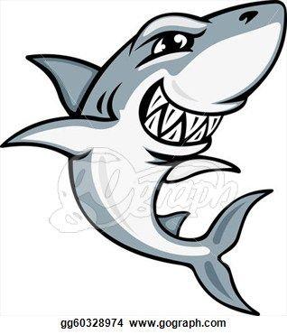 cartoon-shark-mascot_gg60328974.jpg (318×370)