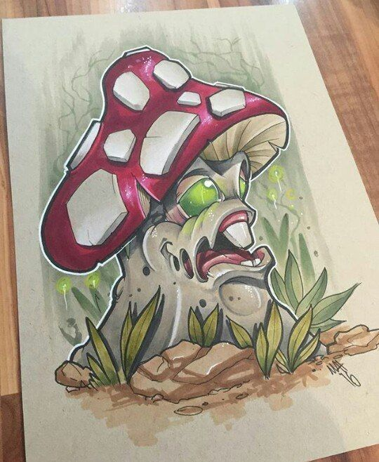 Graffiti Character In 2019 Graffiti Drawing Mushroom Art