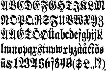 german font letter tattoos and fonts for tattoos on pinterest. Black Bedroom Furniture Sets. Home Design Ideas