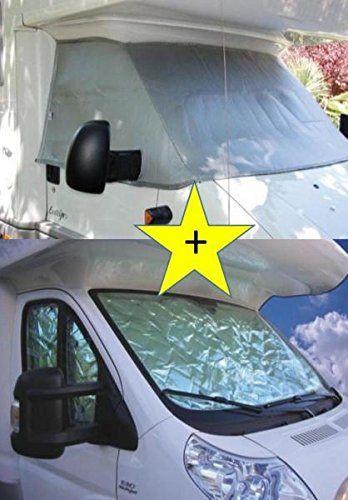 PROMO : occultant thermique cabine Extérieur Intérieur NRF Citroën Jumper 2002/2006