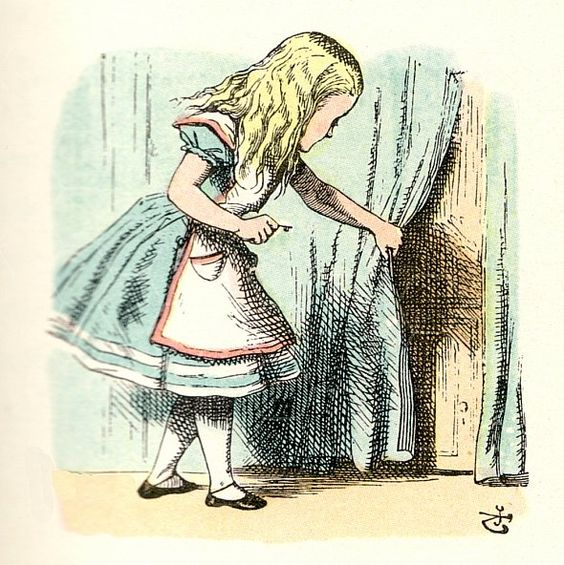 Curtains Ideas alice in wonderland curtains : alice in wonderland color illustrations - Google Search | Art ...