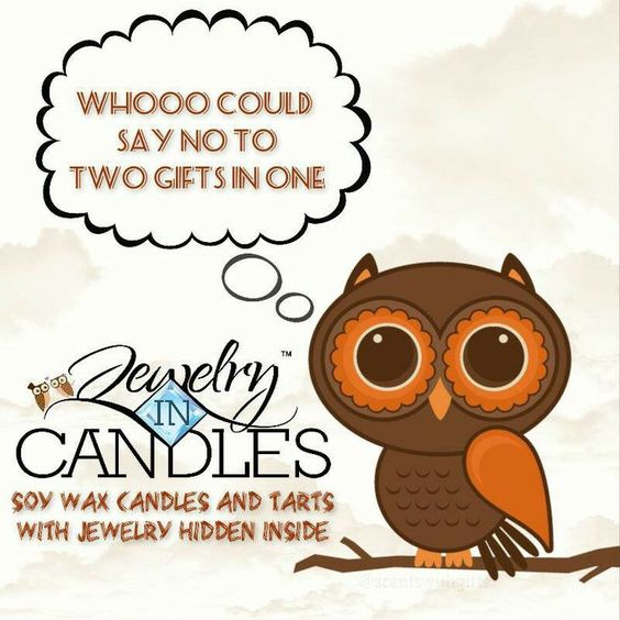 Jewelry in Candles!  You won't be disappointed! https://www.jewelryincandles.com/store/chasitywallace