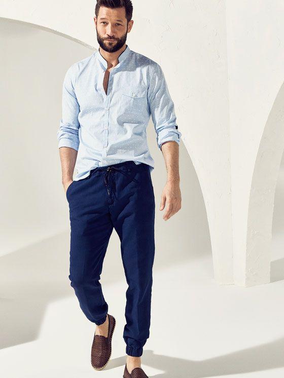 calça moletom masculino estilo formal 2
