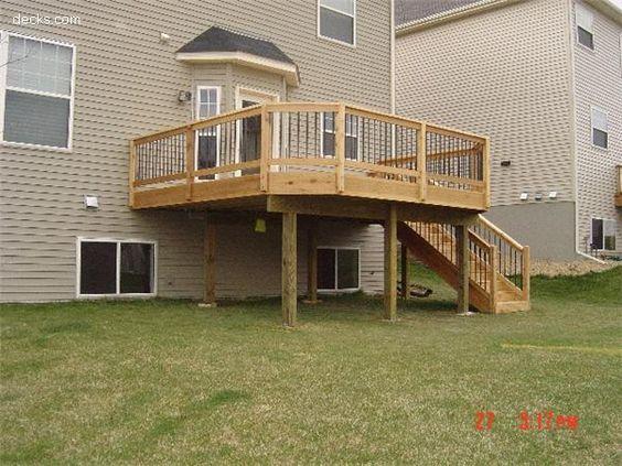 14x14 Cedar Deck