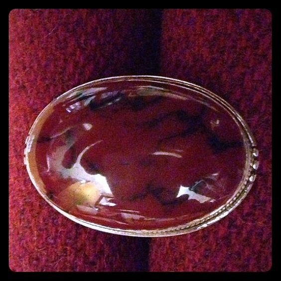 Vintage Beautiful Extra Large Oval Cabochon by SilverUnique, $75.00