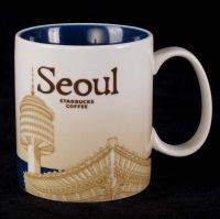 Starbucks Seoul 16oz Coffee Mug 2011