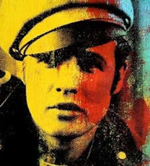 Marlon Brando by Andy Warhol, 1966