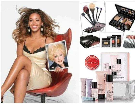 What?! Beyonce uses Mary Kay?! Yes! And did you know MK Is the #1 skin care and makeup line in the USA? And made in the USA?
