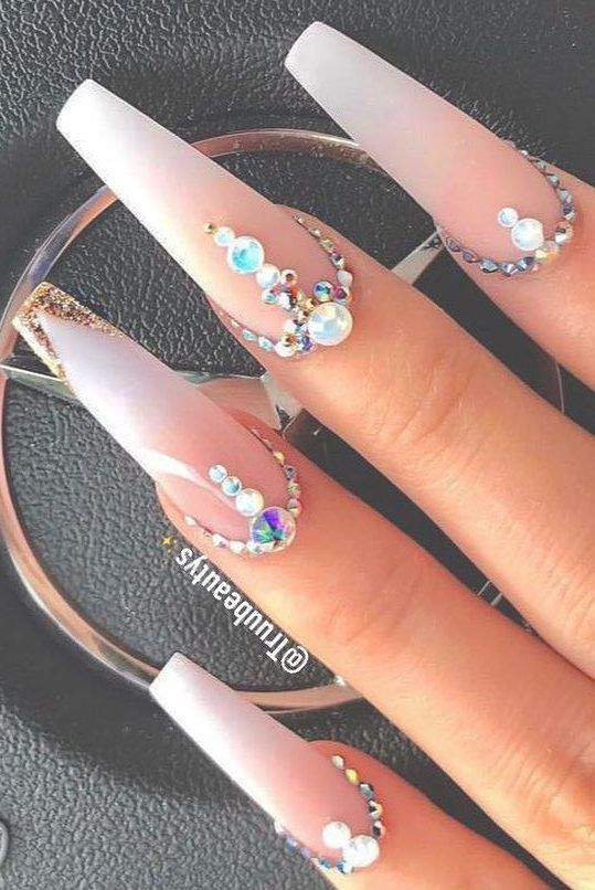 46 Best Acrylic Nails Designs For This Year 2019 Part 32 Best Acrylic Nails Acrylic Nail Designs Nail Designs