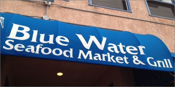 Blue water seafood market grill san diego ca diners for Blue water fish market