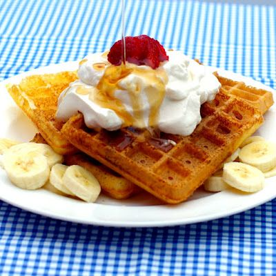 Within the Kitchen: Overnight Yeast Waffles