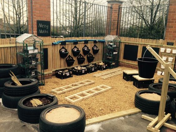 Outdoor Classroom Ideas Year 1 ~ Messy maths area via lucas training and consultancy ltcl
