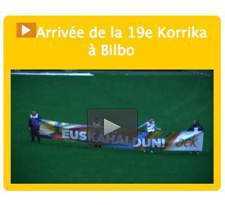 Vidéo - Arrivée de la 19e #korrika à Bilbo http://mediabask.naiz.eus/eu/mediateca/video/korrika-19-amaiera-jendetsua-bilbon…
