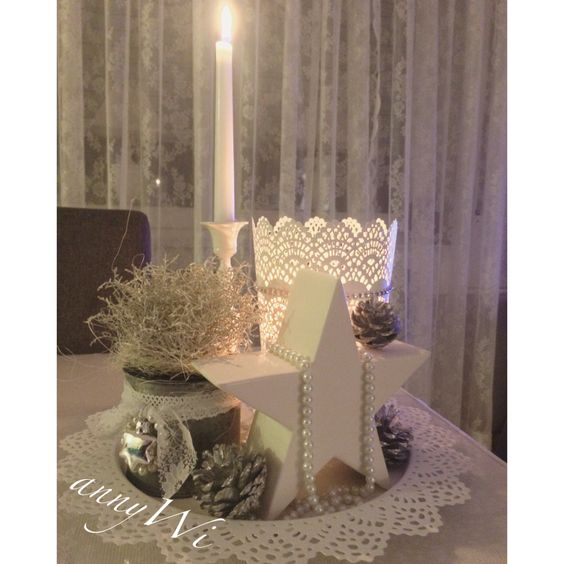 Xmas christmas weihnachten deko shabby advent ikea diy for Dekoration weihnachten