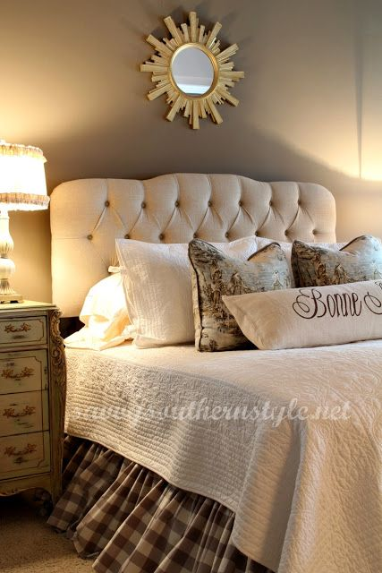 Beautiful master bedroom from savvy southern style diy for Beautiful master bedrooms