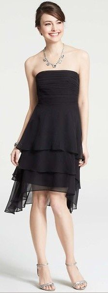 Cute Strapless Dresses for Ladies