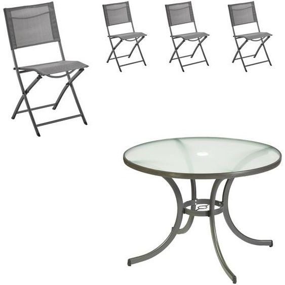 Gartenmobel Set Nizza Mexico Tisch 4 Stuhle In 2020 Outdoor