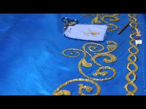 COMO HACER MANTO PARA VIRGEN - YouTube