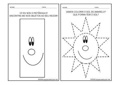 Caderno De Atividades Cores E Formas Para Educacao Infantil Gratis Para Voce Imprimir Espaco Atividades Para Educacao Infantil Atividades Educacao Infantil