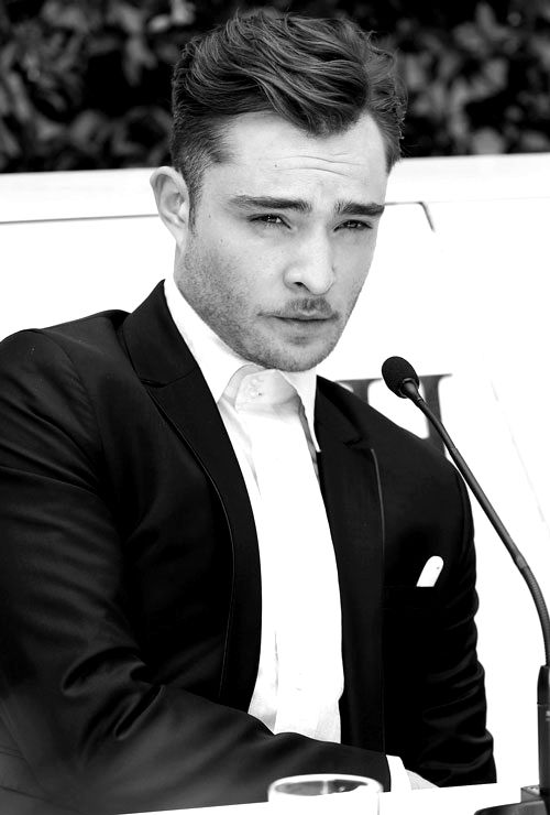 Ed Westwick. Love me some Chuck Bass. | People, Places ... Ed Westwick