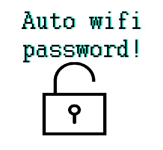 This is a simple file that will display the current wifi password that is connected to the user. The link is here :) ~ http://www.filedropper.com/wifipassword