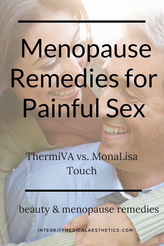 painful sex due to menopause