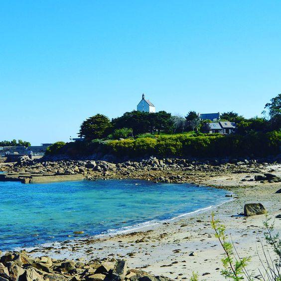 «La chapelle Sainte Barbe #roscoff #Finistère #Bretagne