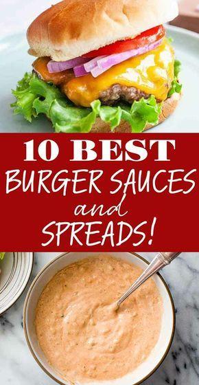 10 Best Burger Sauces and Spreads | SimplyRecipes.com