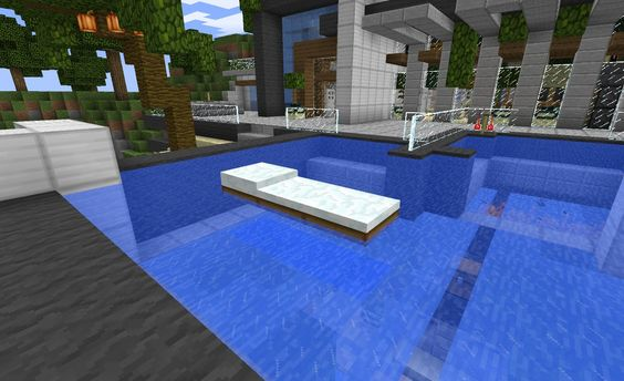 Minecraft Furniture Minecraft And Pools On Pinterest