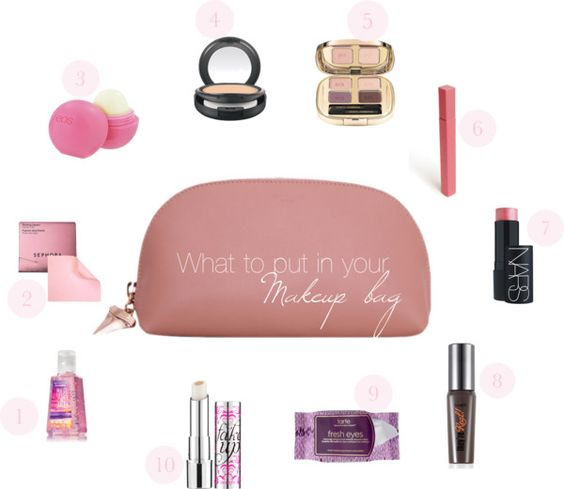 What to keep in your makeup bag?