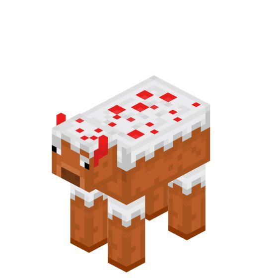 Papercraft Cake Cow Lego Design Minecraft Designs Paper Crafts