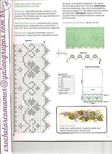 Barradinhos em Croche - claudia - Picasa Web Albums