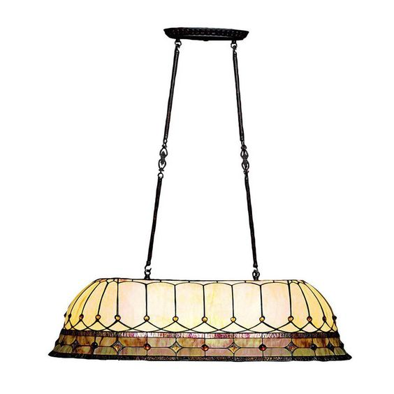 Kichler Lighting 65244 3 Light Dunsmuir Island Billiards