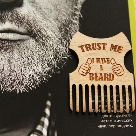 Believe us, we have the best choice of beard combs ☺