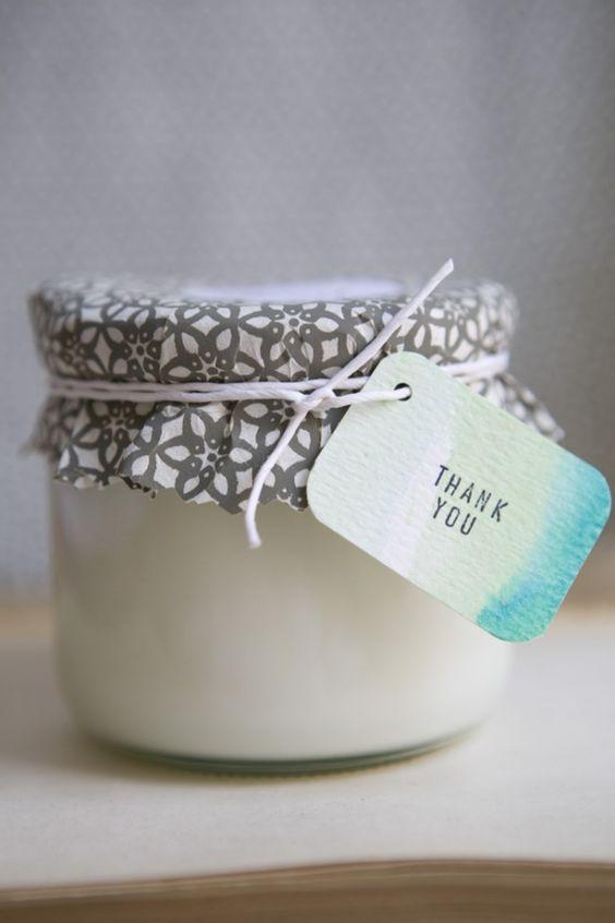DIY: eco friendly soy wax candles