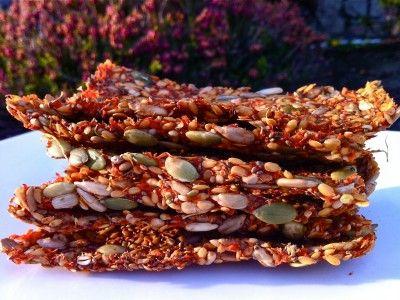 Mladí a Raw Vegan je chrumkavej zeleniny mexickej sušienky