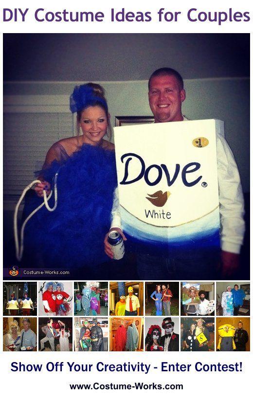 diy costumes for couples herestoyourhealth herestoherhealth - Bar Of Soap Halloween Costume