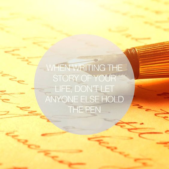 Writing Life's Story...