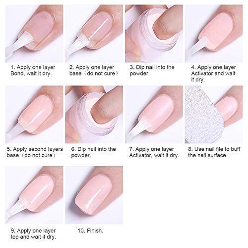Nicole Diary Pearl Nail Glitter Powder Purple Mirror Effect Manicure Nail Art Chrome Pigment Diy Decoration Dipped Nails Acrylic Dip Nails Diy Acrylic Nails