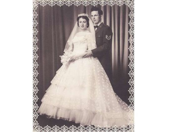 This photo is of my husband Ernie and I. We were married on May 3, 1958, at St. Mary's Catholic Chur... - Provided by Reader's Digest (Association) Canada ULC