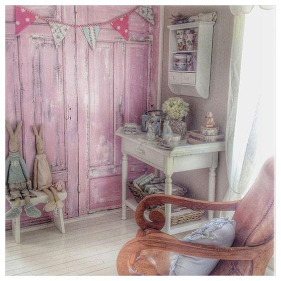 Shabby and Charme: Toni pastello per una deliziosa casa norvegese