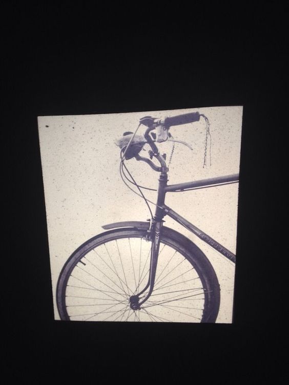 "Sheldon Brody ""bicycle 1967"" Photography 35mm Slide"