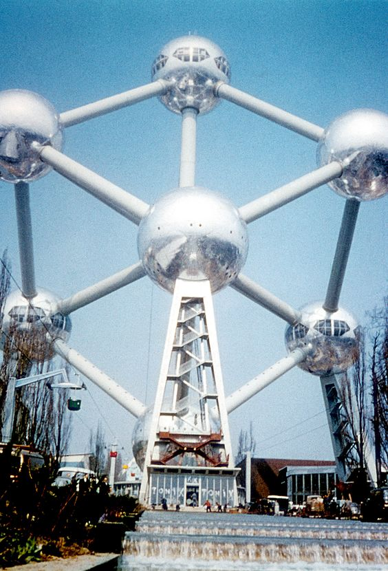 Expo Exhibition Stands Tall : Atomium expo universal worldfair of brussels