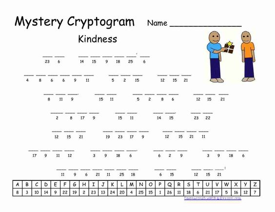 Free printable celebrity ciphers puzzles