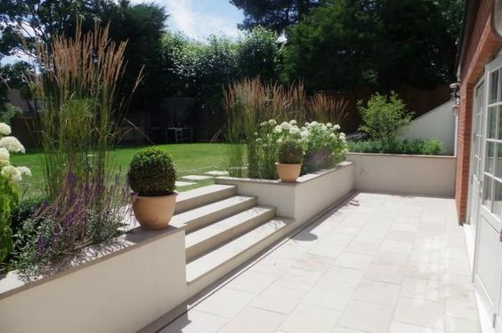 Buff Sawn Sandstone Paving is both hard-wearing and stylish. With a range of matching copings stones, step treads and edgings all available off the shelf, this product is extremely versatile and well suited to both traditional and contemporary schemes.