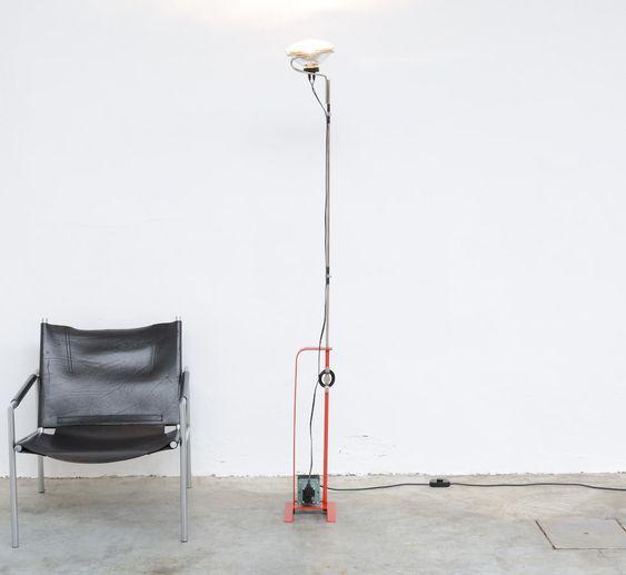 Toio floor lamp A. Castiglioni Flos